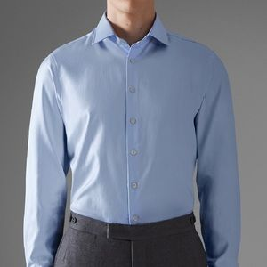 Thomas Pink London Royal Twill Oxford Shirt
